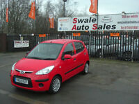 2009 HYUNDAI I10 CLASSIC 1.2L ONLY 49,557 MILES, FULL SERVICE HISTORY, £30 TAX