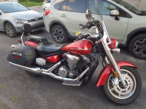 YAMAHA MIDNIGHT STAR 1300cc 2009