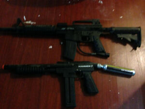 Paintballguns for sale!