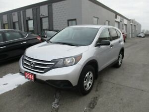 2014 HONDA CRV LX NO ACCIDENT ONLY 67,000 KM
