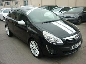 2012 Vauxhall Corsa 1.2i 16v ( 85ps ) ecoFLEX ( s/s ) Finance Available