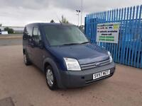 2007 FORD TRANSIT CONNECT Low Roof Van L TDCi 75ps 12MNTHS Warranty AA Cover
