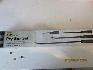 Pry Bar Set - 4 pieces