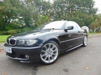 2006 56 BMW 3 SERIES 2.0 318CI M SPORT CONVERTIBLE 2D 1995CC