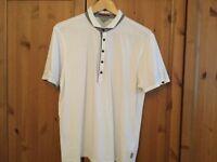 White Ted Baker Men's Polo Shirt. New lower price