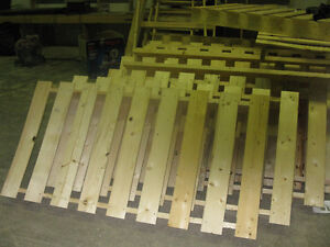 Fencing made of new wood