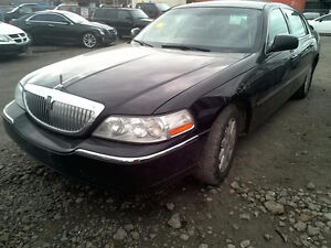 2011 LINCOLN TOWNCAR PARTING OUT