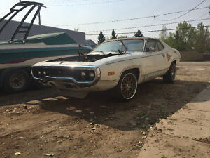 Trade 1972 Satellite 5spd Rat Muscle Project for Dodge Truck