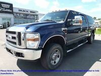 2008 FORD F-250 Super Duty 4WD Crew Cab 172'' WB XLT, DIESEL, CR