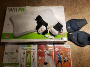 Wii Games - fit and active