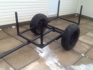 FOR SALE NEWELY built woods cart .