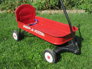 Radio Flyer -- Classic Red Wagon (Metal) -- AVAILABLE
