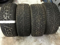 235/55R17 General Winter Tires