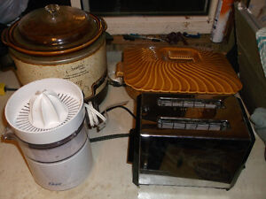 Toaster, crock pot, juicer & food warmer Cornwall Ontario image 1