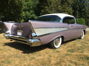 1957 Chevrolet Bel Air 2dr HT Sport Coupe Dusk Pearl