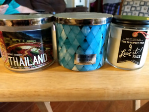 Bath and body works candles (all new)