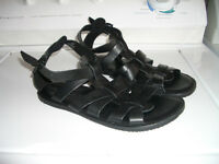 "ALDO """"--- sandals all leather - NEW - size 42 EU / 9.5 - 10 US"