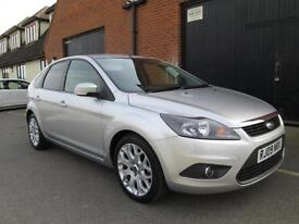 2009 FORD FOCUS 1.6 ZETEC SILVER VERY LOW MILEAGE
