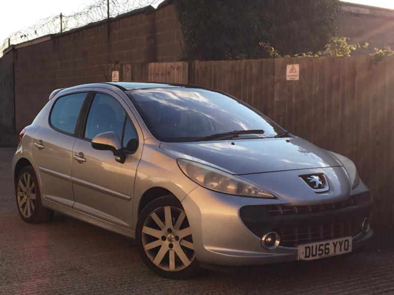 2006 Peugeot 207 1.6HDI GT 5dr***10 SERVICE STAMPS + PAN ROOF***