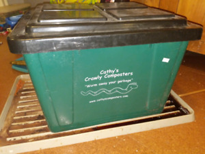 Cathy's Crawly Composters - vermicompost