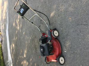 Gas Self Propel Lawnmower
