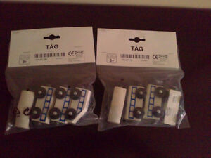 Brand new with tags ikea magnetic toy train kits - lot of 2 pack London Ontario image 1