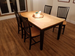Dining Room Table with Four (4) Chairs