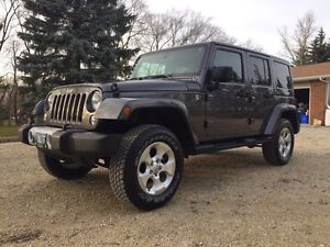 2014 fully loaded Jeep Wrangler Sahara