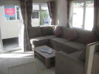 For sale new luxury static caravan holiday home with bath! South Devon