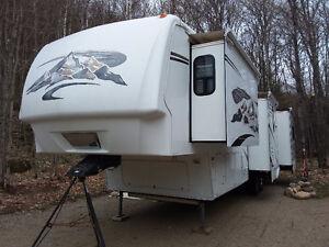Caravane à sellette Montana 37 pieds
