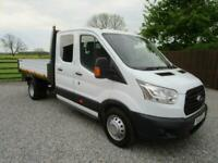 2016 Ford Transit 2.2 TDCi 125ps 2016 One Stop Double Cab Tipper in White Tipper