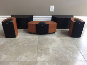 COMPLETE HOME THEATRE w/ KEF SPEAKERS