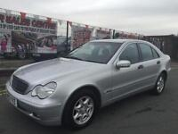 MERCEDES BENZ C220 CDI 2.1 AUTO 2003 CLASSIC SE ** LOW 77,660 WARRANTED MILES