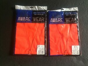 2 New high level visibility safety vest only $14.99 each OBO