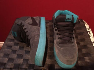Nike Suede Blue 6.0 High Tops