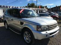 2006 LAND ROVER RANGE ROVER SPORT 2.7 TDV6 HSE Auto FULL LEATHER