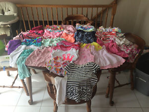 Girls summer clothing lot - 12 month