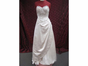 Beautiful Rum Pink Sincerity Wedding Dress  $400 obo