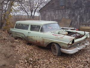 1957 Ford 2dr Ranch Wagon