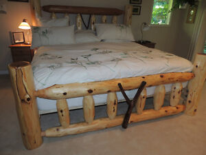 Hand crafted one of a kind real wood beds by local family Co. Comox / Courtenay / Cumberland Comox Valley Area image 3
