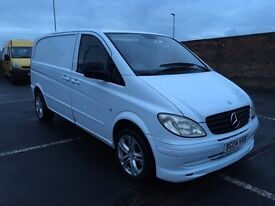 Mercedes Vito SWB 2.1 cdi 2004 twin side loading door low milage