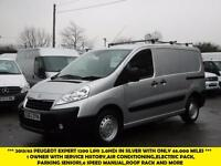 2013 PEUGEOT EXPERT 2.0 HDI 1200 L1H1 SWB DIESEL VAN IN SILVER WITH ONLY 46.000