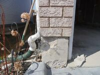 Parging, Stucco Repairs, Concrete Repairs