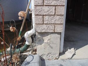 Parging, Cement Repairs, Stucco Repairs