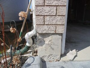 Parging, Cement Repairs, Stucco Repairs Cambridge Kitchener Area image 1