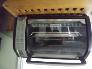 Black and Decker toaster oven mint condition