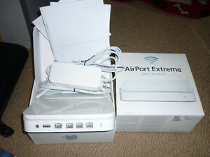 APPLE AIRPORT EXTREME BASE STATION  5 GEN  A1408