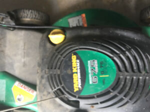 Gas lawn mover with Rear wheel Drive
