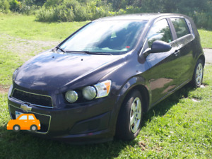 2014 Chevy Sonic w/ 4 winter tires