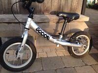 Ridgeback Scoot Balance Bike in Silver